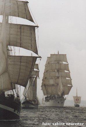 Segelschiffparade, Kiel