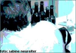 Mann mit Bier II