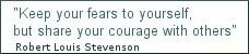 Wirtschaftswetter, Zitat Stevenson