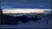 Ski-Piste in den norwegischen Bergen