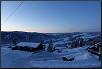 Dämmerung im winterlichen Norwegen