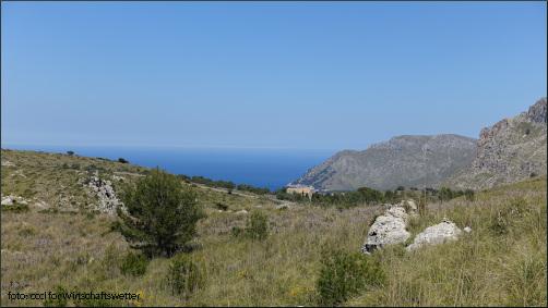 Mallorca - Blick vom Bec Ferrutx