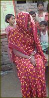 Patientin im Dorf