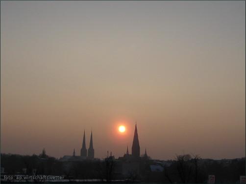 Frühling 32 - Sonnenuntergang 1