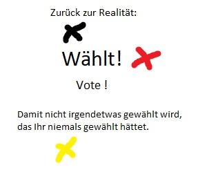 Aufruf zur Bundestagswahl 2021