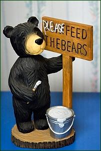 Bären-Figur