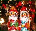 Bild Weihnachtsmänner, Link Wirtschaftswetter-Werbung
