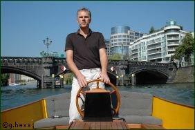 Spree-Taxi-Gründer Gerhard Heß
