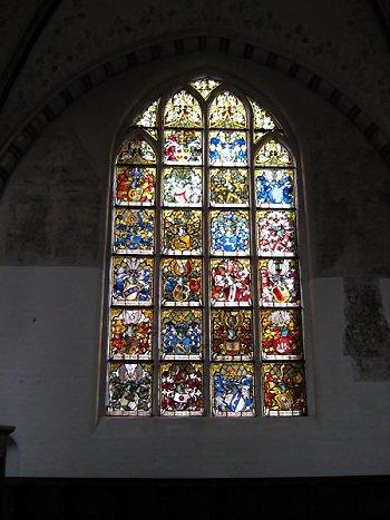 Buntes Glas-Fenster, Autumn Colours
